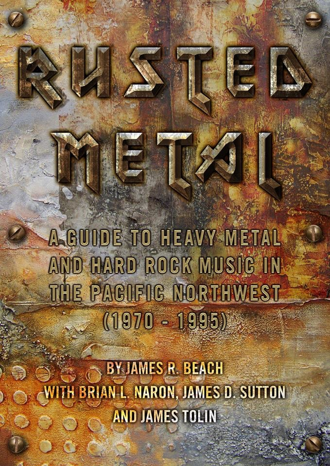 RUSTED METAL BOOK COVER