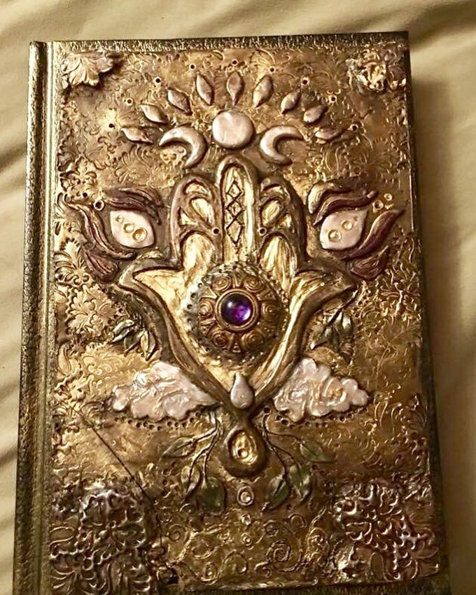 Brandy's Evocative Journals: Here is my personal one, crafted to represent Compassion