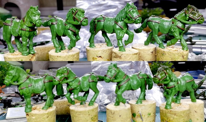 "Mongol pony ""greens"""