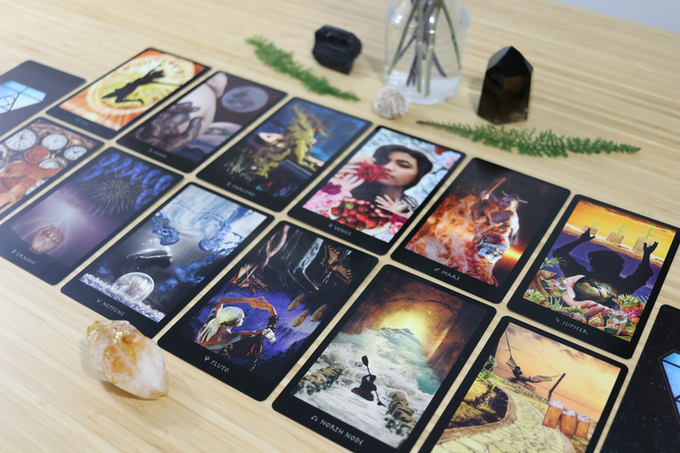 The Planets in the Final Astro Essentia Deck