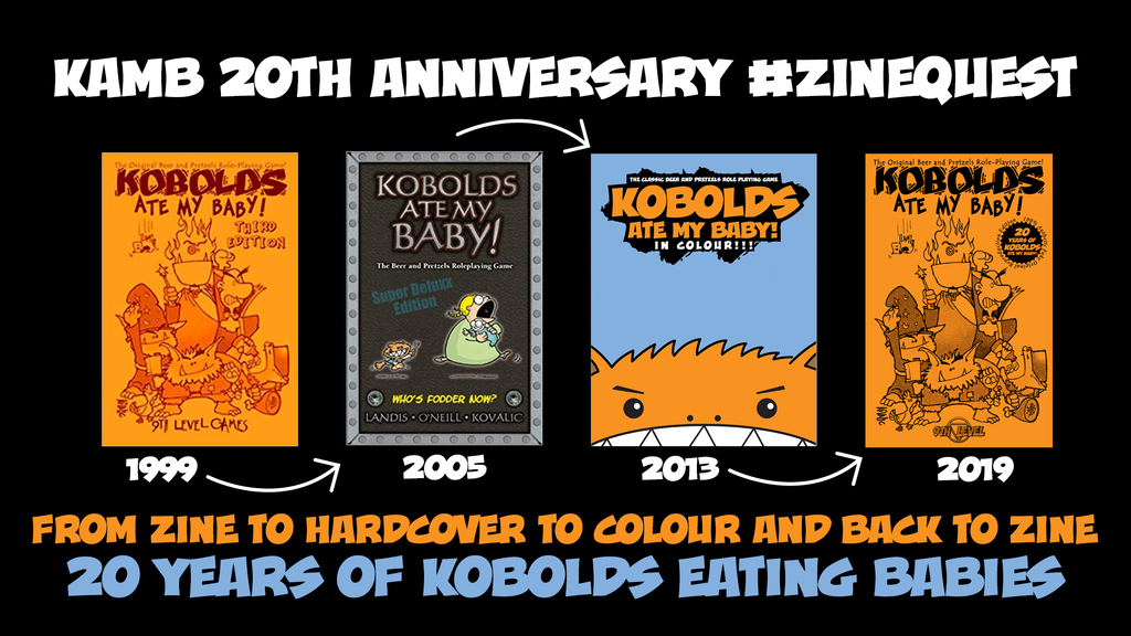 Kobolds Ate My Baby! 20th Anniversary - ZINE QUEST project video thumbnail
