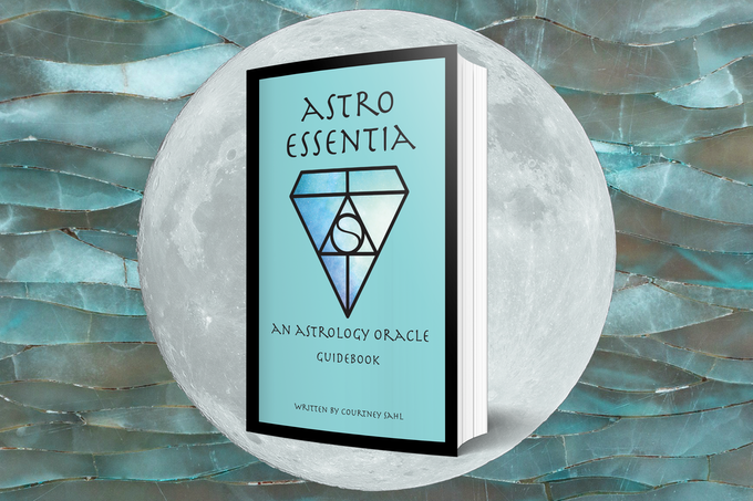 Astro Essentia: An Astrology Oracle Deck by Courtney Sahl
