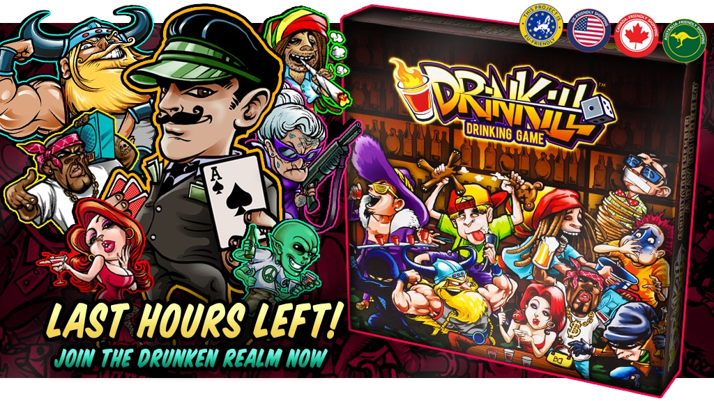 DRINKILL™ - A DRINKING BOARD GAME FOR TRUE PARTY PEOPLE project video thumbnail