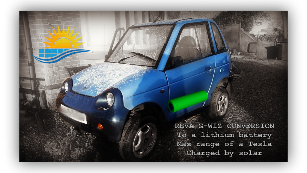 Project image for DIY solar-powered electric car with the range of a Tesla!