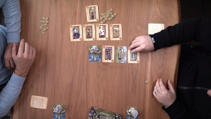 Playing the Wizard to re-flip a card