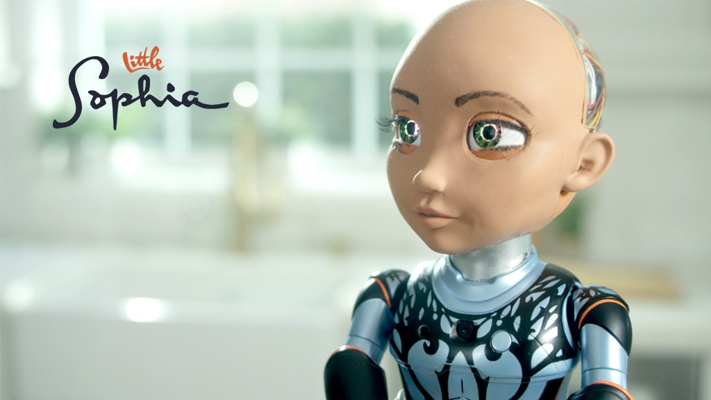 Little Sophia by Hanson Robotics project video thumbnail