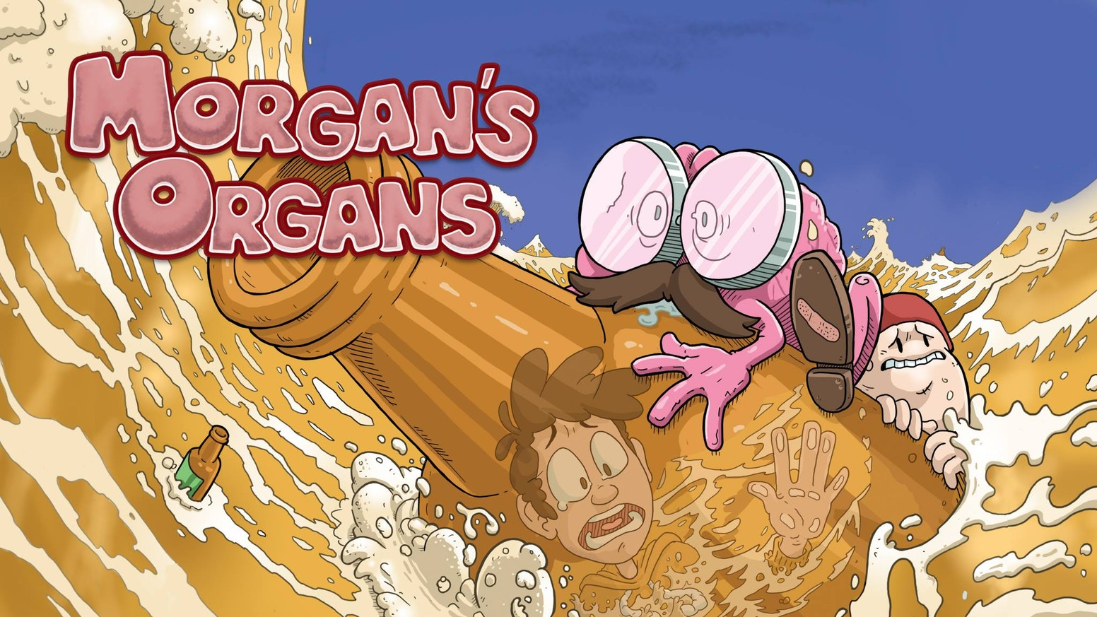Morgan's Organs returns for Book 3 - where a crazy night of drinking leads to a morning short of memories. Books 1 & 2 also available.