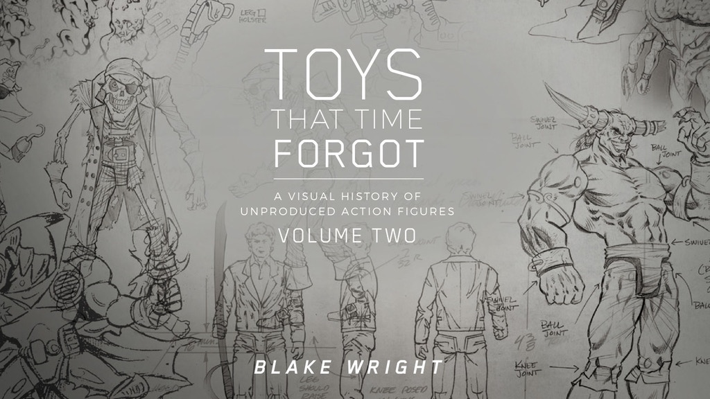 TOYS THAT TIME FORGOT VOL 2 - A book about unproduced toys project video thumbnail