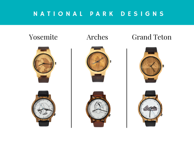 Our initial line of designs draws from the iconic views of America's National Parks