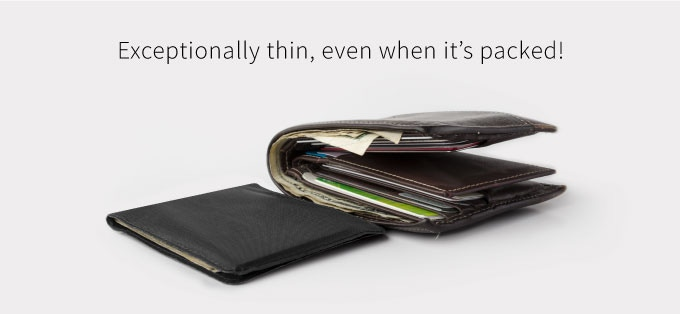 Stealth Wallet - Ultra-Thin, Ultra-Strong 8 Card Wallet by