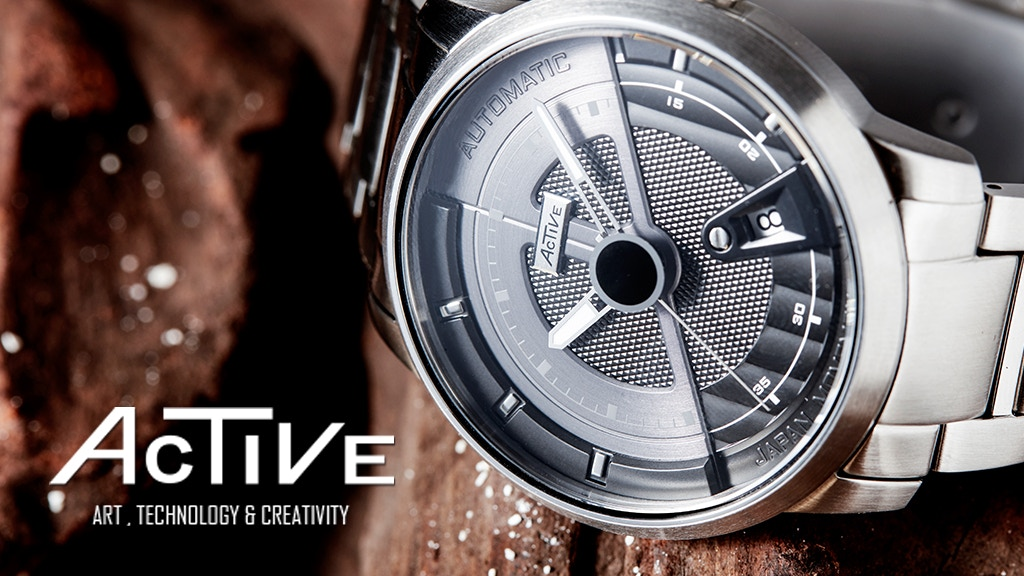 USD149 Modern Vintage Industrial Design Automatic Watches project video thumbnail