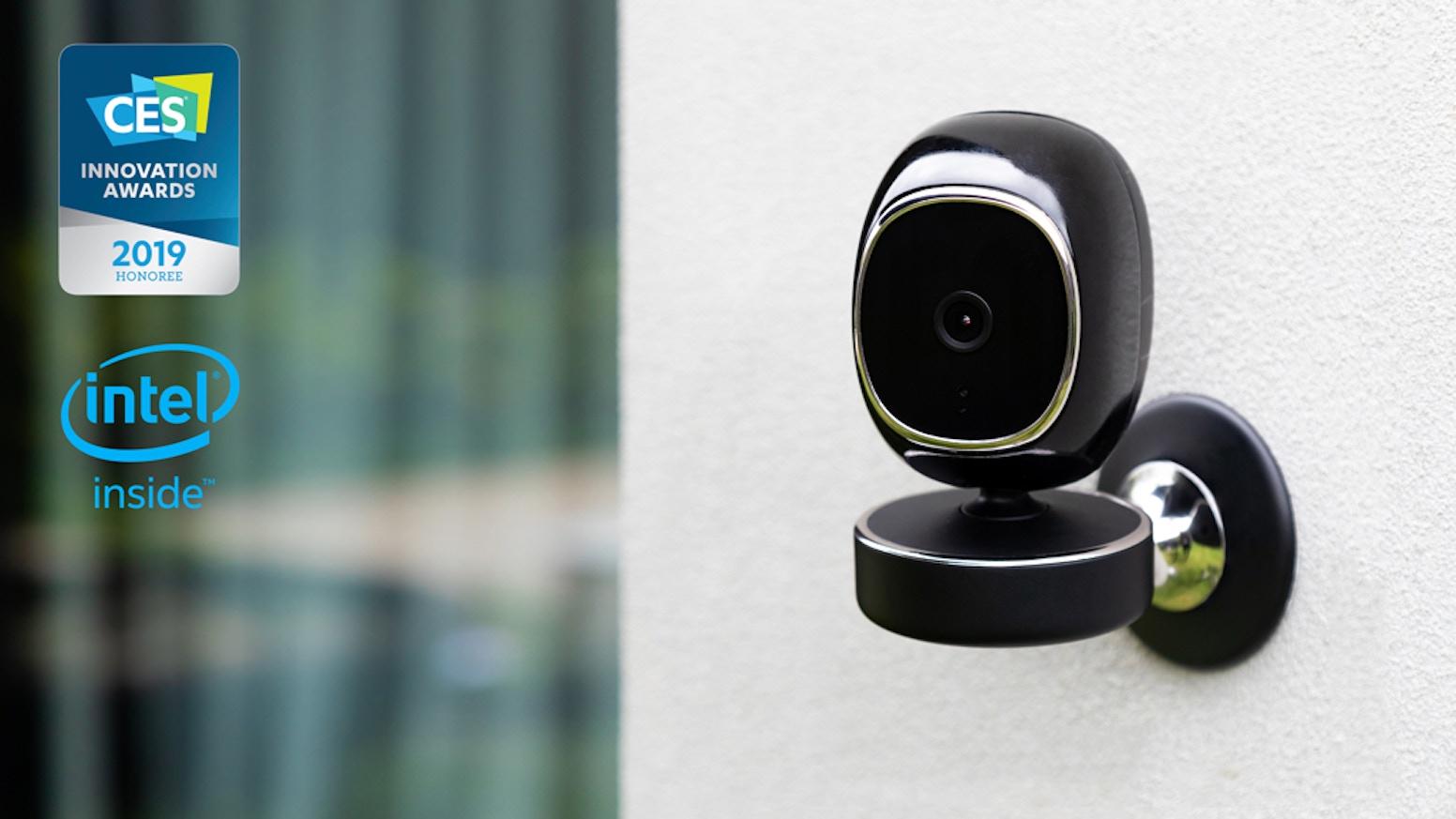 AI Facial recognition | No false alert | 1080P | Starlight vision | Wifi | No Monthly Fee | Local storage | 2-way audio
