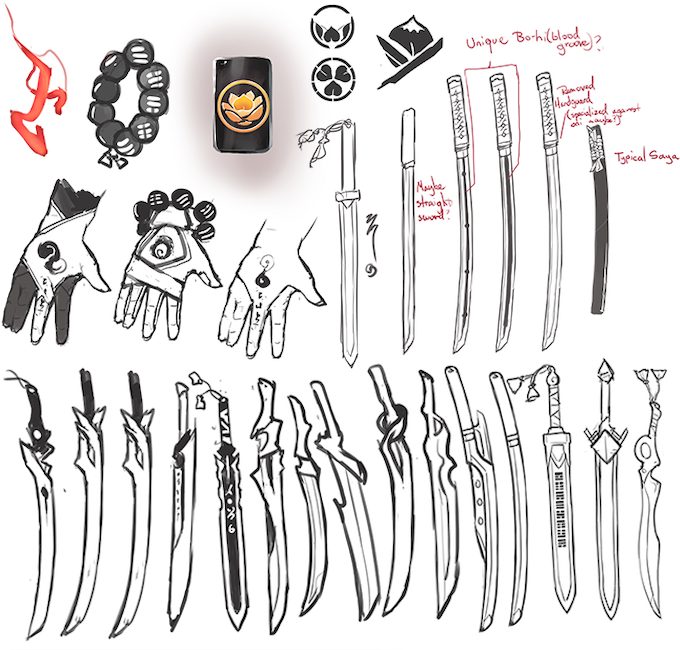 Weaponry and Items