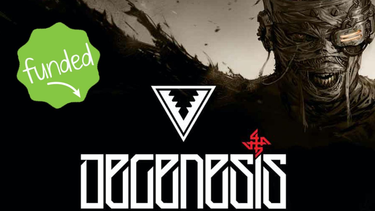 Degenesis: RPG Post Punk Apocalittico.