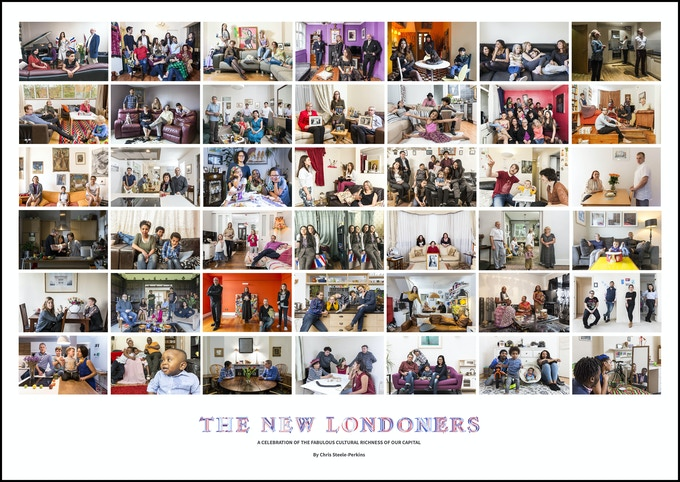 ©Chris Steele-Perkins, The New Londoners, Limited Edition Poster 2019