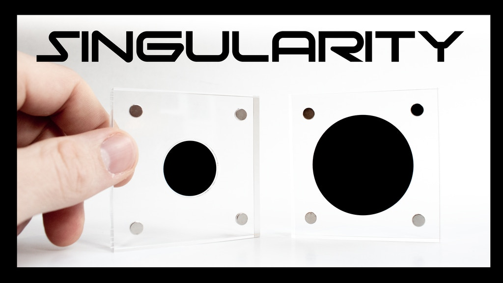 SINGULARITY - A simulated black hole project video thumbnail