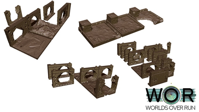 Building and Wall Assembly Parts