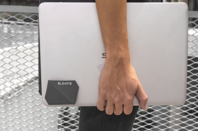 It's magnetic! Bring Elevate wherever you go!