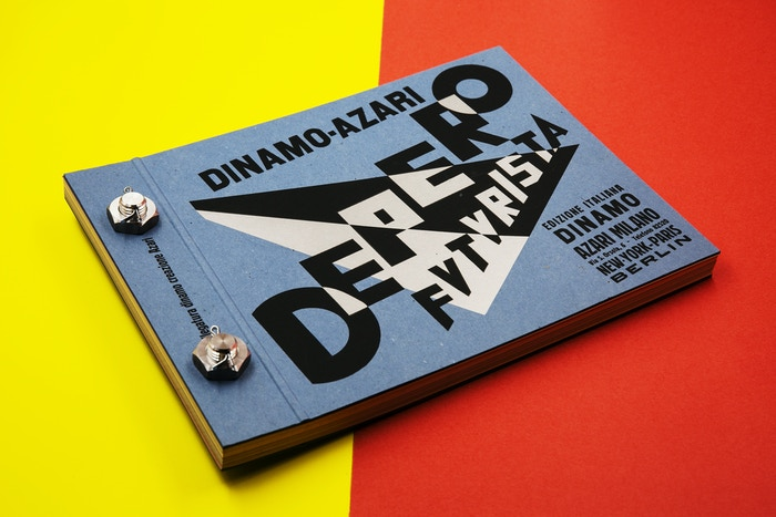 A Kickstarter-funded facsimile of Fortunato Depero's Bolted Book. Photo by Lauren Renner.