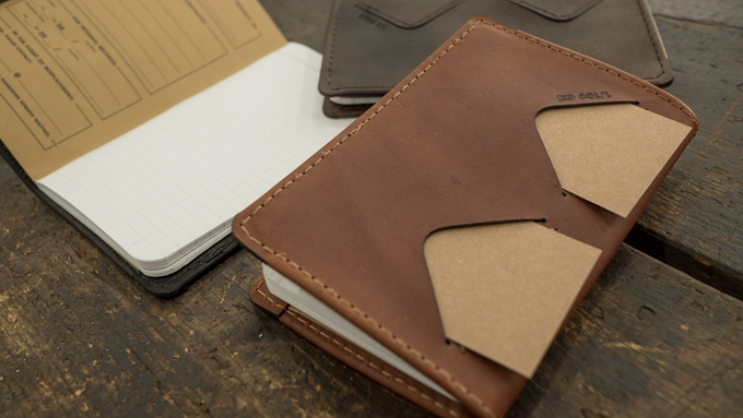 The card pockets can hold credit cards, IDs, or business cards.