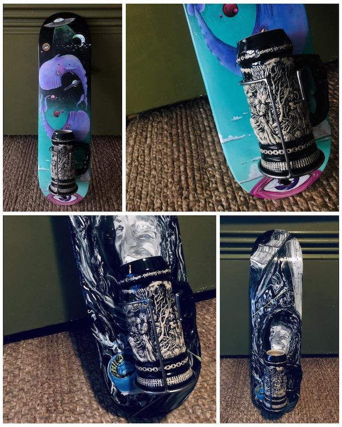 Pro Model Ogma Mug Club Membership Skate Deck Holders