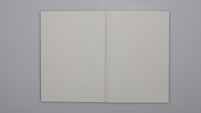 Internal blank pages