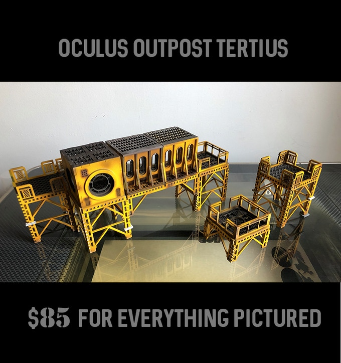 includes two Base Rig Sections, one Oculus Annex, and one Oculus Bridge