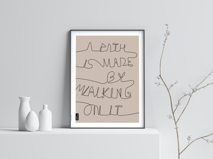 A path is made by walking on it. – Zhuangzi