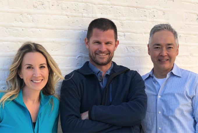 Founders: Dorothy, Brett and John.