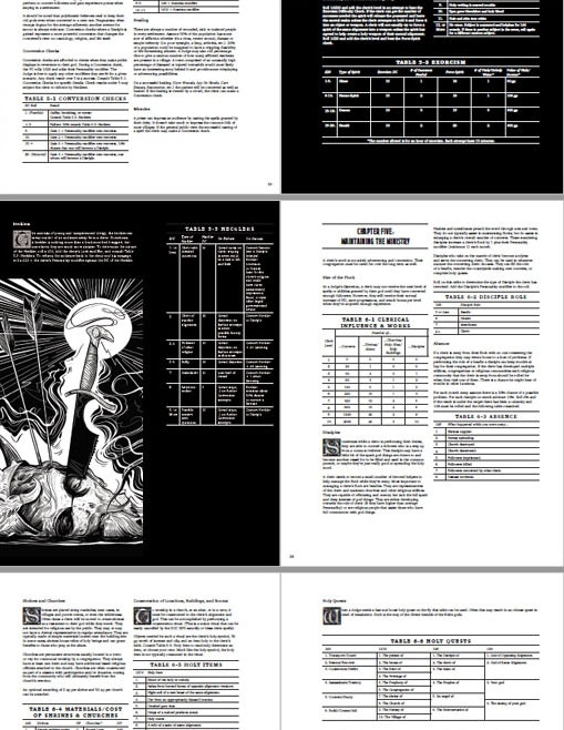 Sample of layout