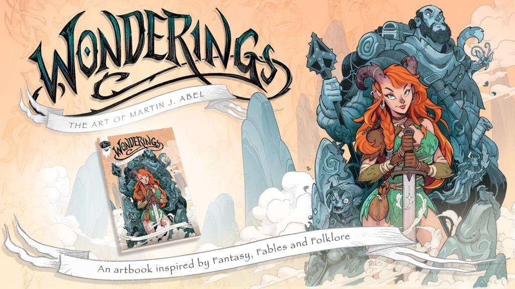 Wonderings - The art of Martin J Abel project video thumbnail