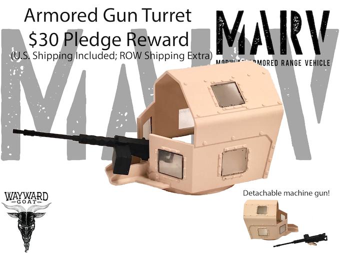 Armored Gun Turret Reward