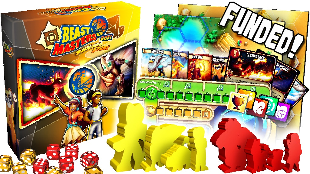 Beast Masters Duel: A 2 Player Game with Custom Meeples project video thumbnail