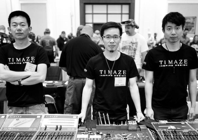 TongYue (Canada), Simon Ke (China), Davis Zhang (America).
