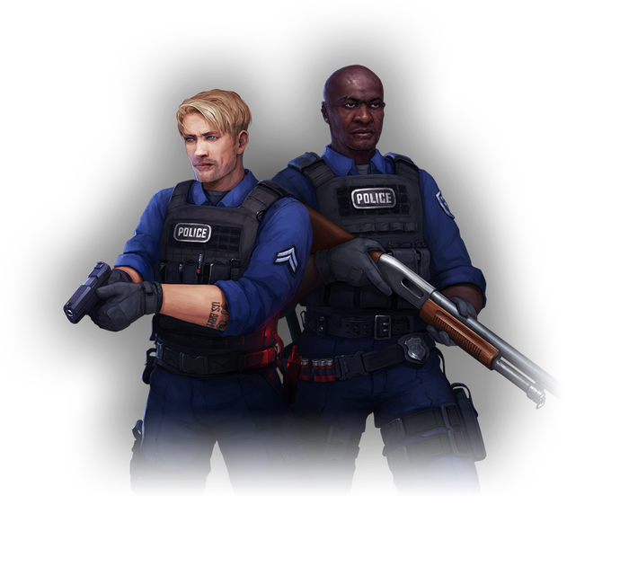 React fast to enemies actions, command your fellow mate to clean up the location and save hostages without unnecessary casualties.