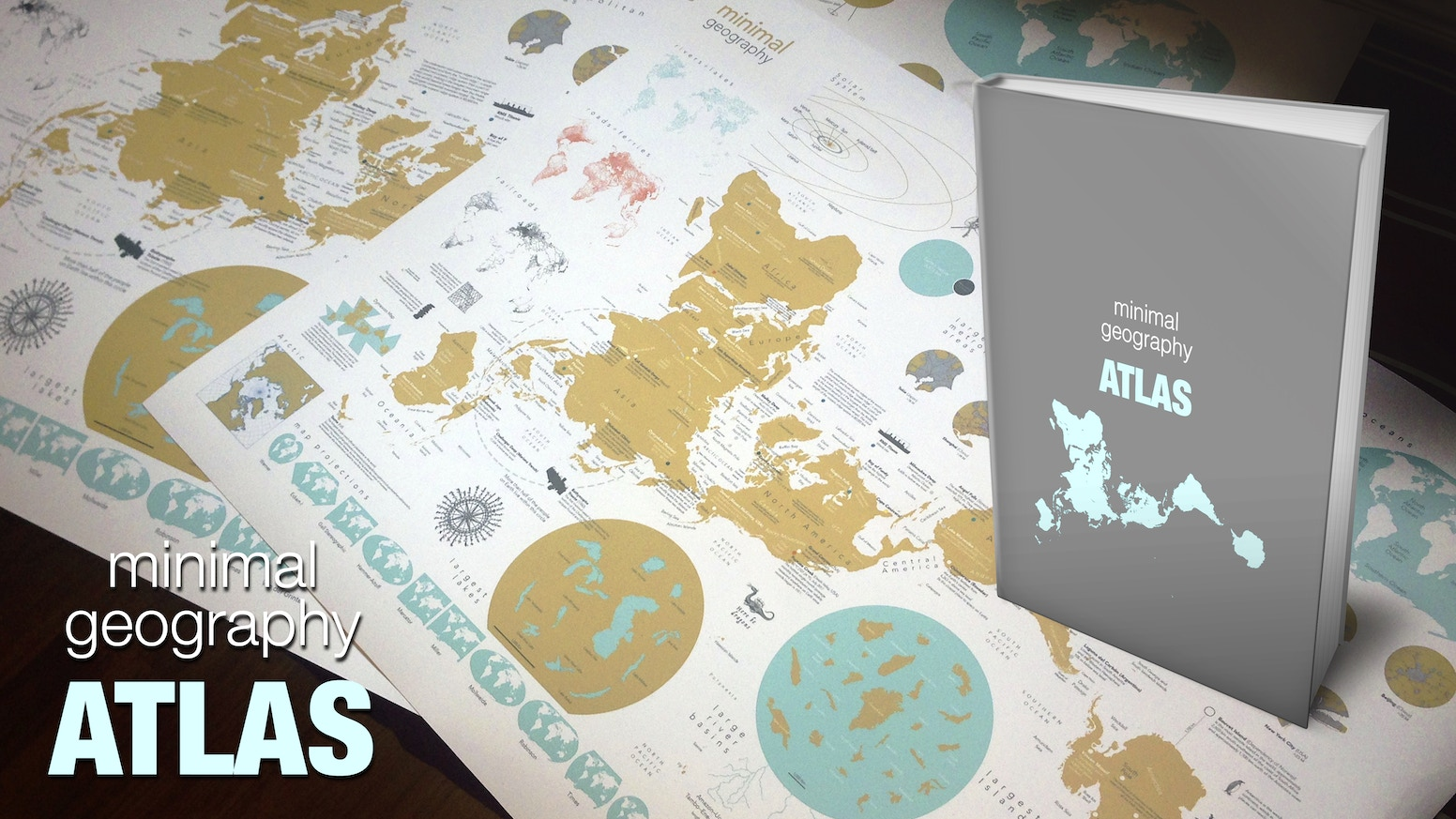 A book full of fascinating maps to arouse your curiosity. A Make/100 project.