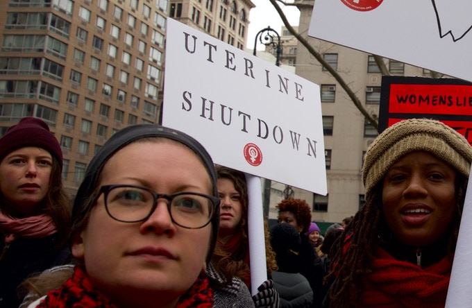 Women's March, New York City, January 19, 2019.