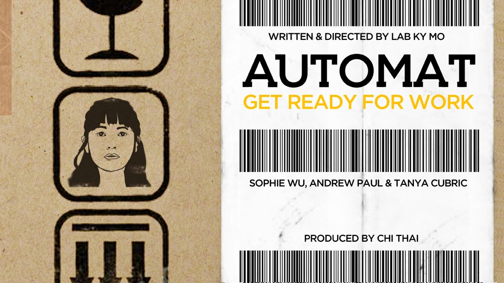 Automat - a short film project video thumbnail