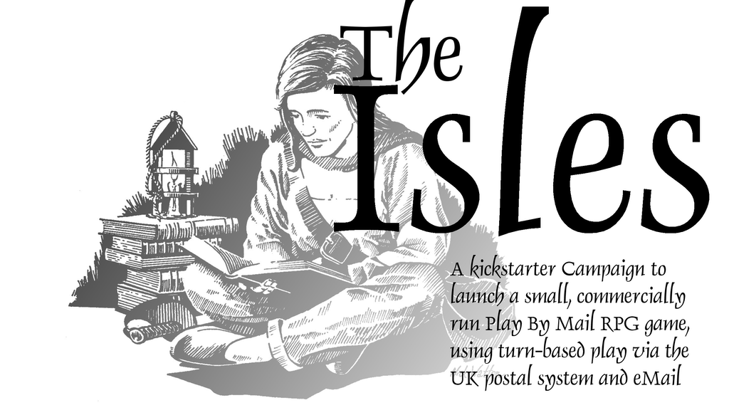 Project image for The Isles, Fantasy Play By Mail game (Canceled)