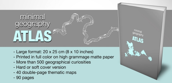 The Minimal Geography Atlas by Alejandro Polanco — Kickstarter