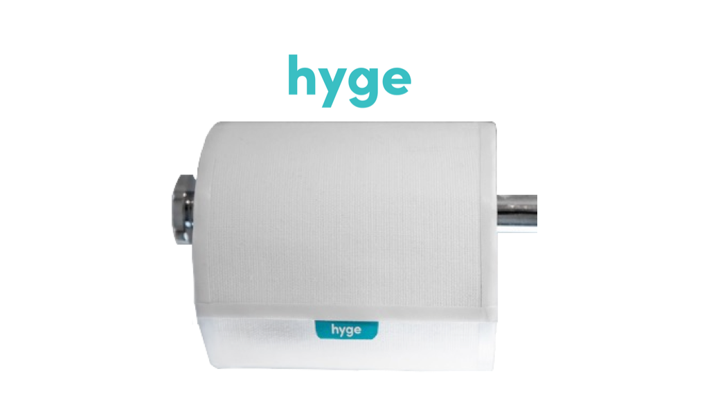 Hyge: Biodegradable Wipes on a Roll. project video thumbnail