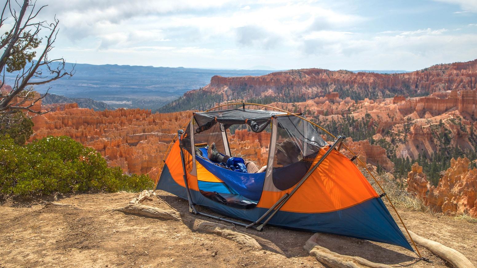 Freestanding Hammock-Tent