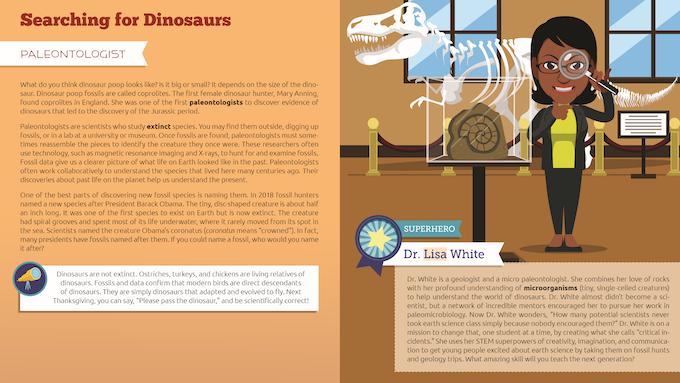 STEM Superhero: Dr. Lisa White, Paleontologist