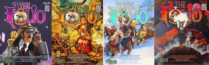 Get all 4 of the Digital Quarterly adventures!
