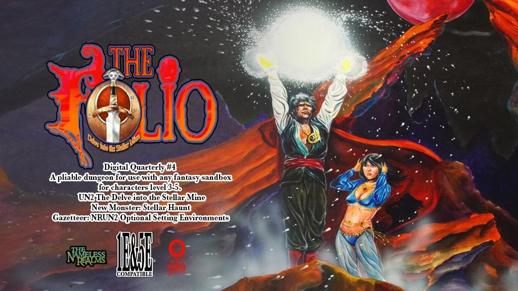 The Folio: Digital Quarterly #4 1E/5E adventure module! project video thumbnail