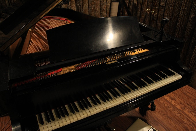 THE piano! Robbie played this on several songs on the record