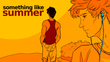 Something Like Summer (Gay Comics!) Volume One