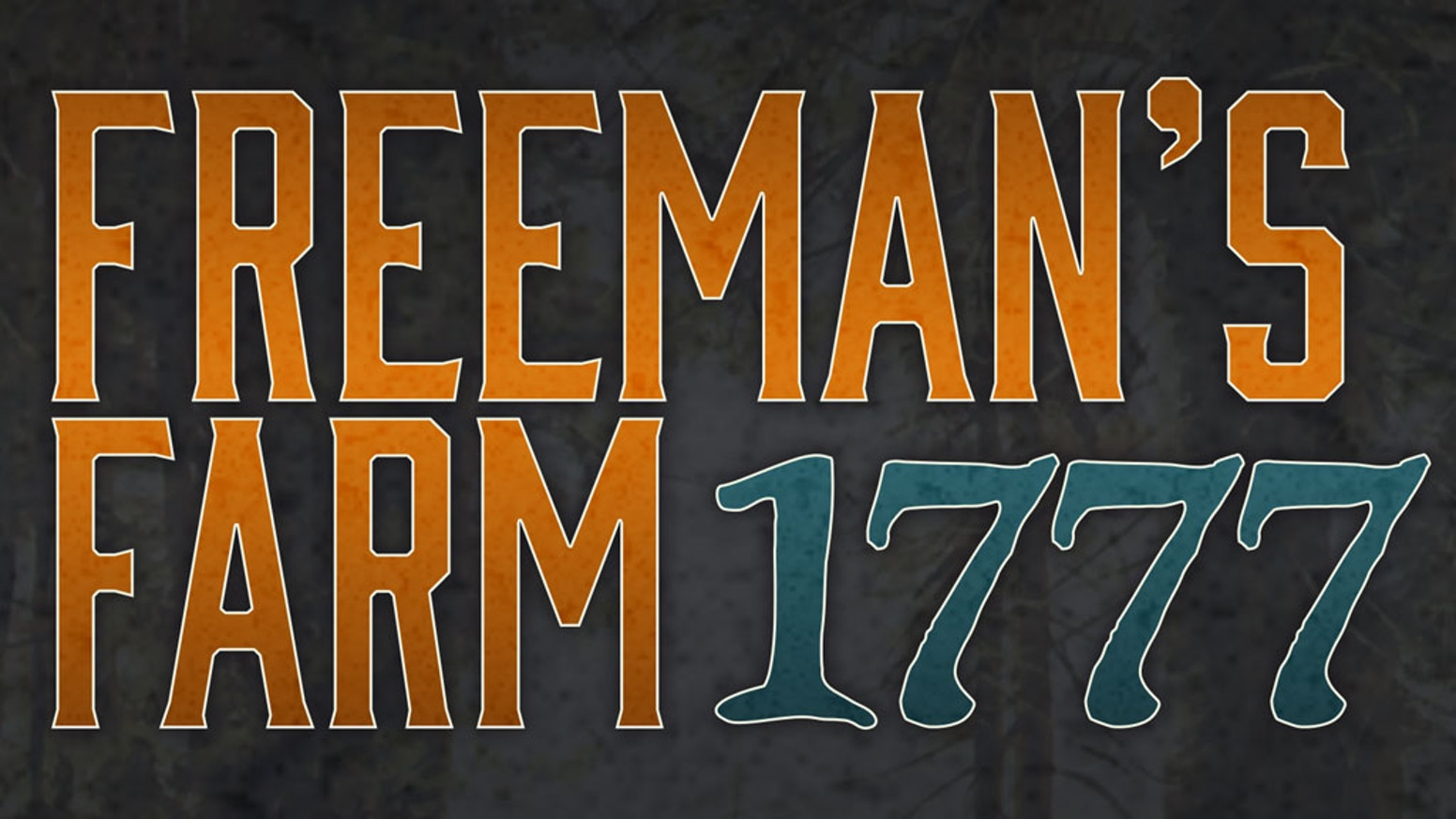 An innovative card driven board game on the Battle of Freeman's Farm.  For 1-2 players.  Playable in 1 hour.