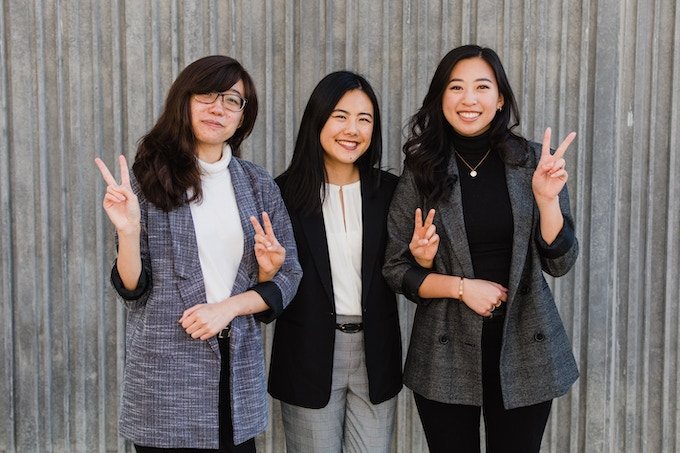 Founding Co-Directors. From left to right: Dana Chan, Emily Luong, Timothea Wang. Photo by Shannon Hillyard and Emma Chisholm