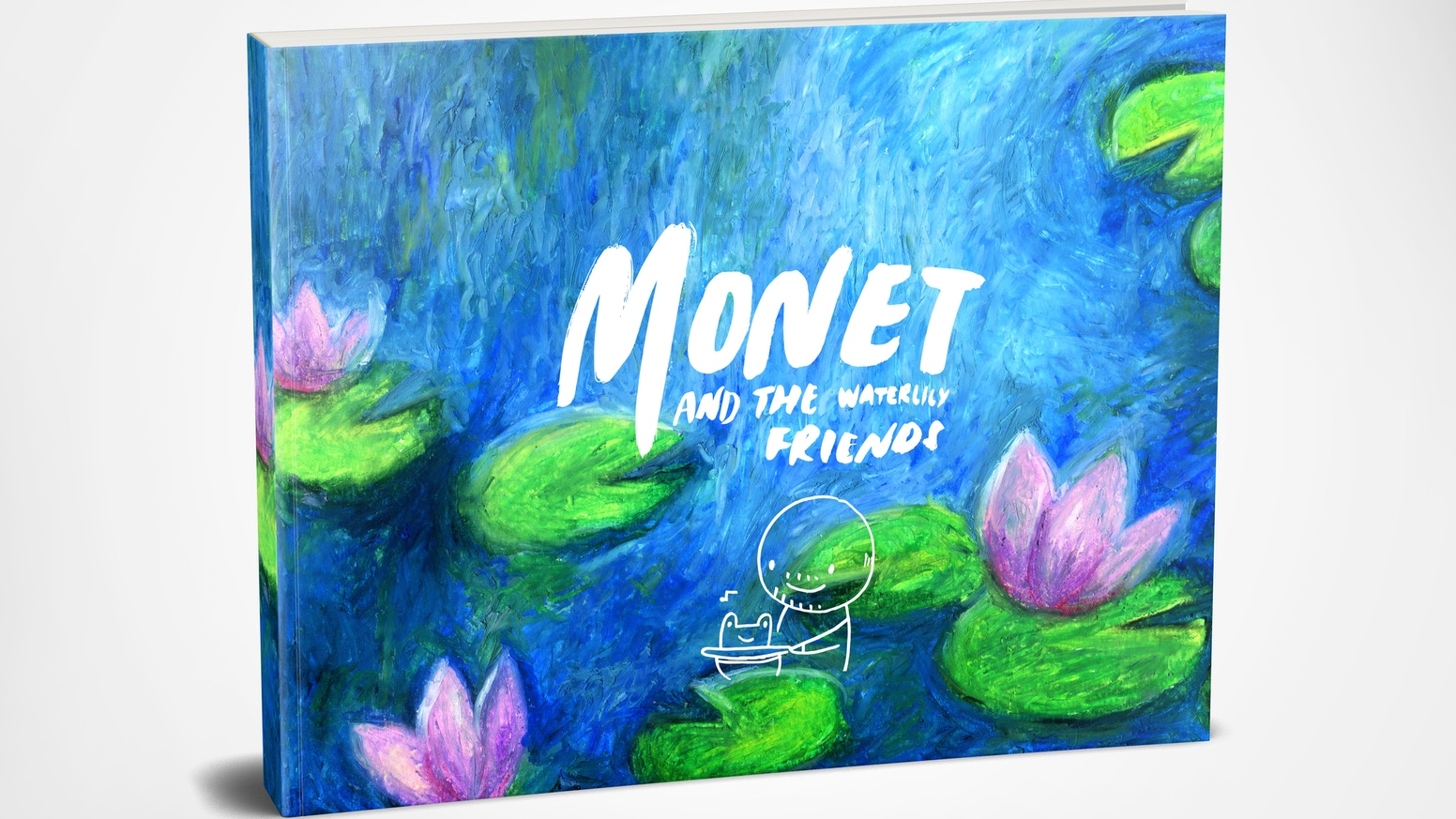 Monet and Friends is art class in a book.